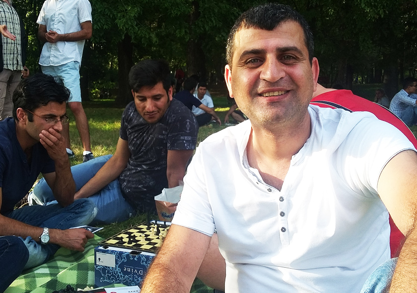 Sameer aus Damaskus (SYR)